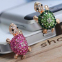 Rhintstone Tortoise anti Plug Iphone 4/4s/5