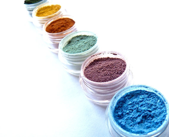 Vegan Mineral Makeup Eye Shadow Sample  Pick 3 by BeauteCrue