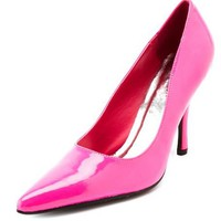 Patent Single Sole Pump: Charlotte Russe
