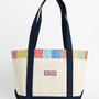 Women&#x27;s Tote Bags: Ocean Life Patchwork Tote for Women - Vineyard Vines