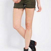 Urban Outfitters - BLANKNYC Propaganda Embroidered Denim Short