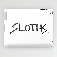 Sloths. iPad Case by Lucy Helena