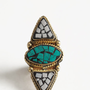 Tribal Guide Mosaic Ring - $20.00 : ThreadSence, Women&#x27;s Indie &amp; Bohemian Clothing, Dresses, &amp; Accessories