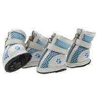Summer Lightweight Blue Walking Shoes, Casual Doggy Boots, Size 2#, Dogs Costume:Amazon:Pet Supplies