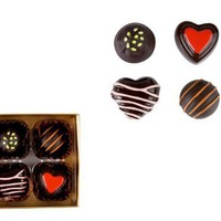 Present Time Wanted Magnetic Forever Chocolates, Set of 4:Amazon:Home &amp; Kitchen