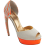 Walter Steiger Tiger Print Peep Toe Double Platform Pump at Barneys.com