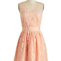 BB Dakota When the Night Comes Dress in Petal | Mod Retro Vintage Dresses | ModCloth.com