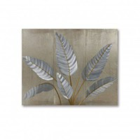 Nova Gilmore 3-Piece Metallic Leaves Wall Graphic - WG42541 - All Wall Art - Wall Art & Coverings - Decor