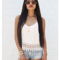 Daisy Crochet Halter