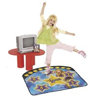 Hannah Montana Instructional DVD & Dance Mat Learn To Be A Popstar