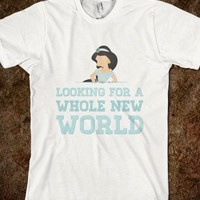 Looking For A Whole New World - hopealittle tee&#x27;s - Skreened T-shirts, Organic Shirts, Hoodies, Kids Tees, Baby One-Pieces and Tote Bags