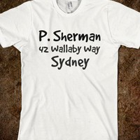 P. Sherman 42 Wallaby Way, Sydney - Finding Nemo - dayDREAM designs - Skreened T-shirts, Organic Shirts, Hoodies, Kids Tees, Baby One-Pieces and Tote Bags