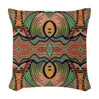 Cornucopia Pattern Woven Throw Pillow> Throw Pillows> Janet Antepara Designs