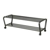 PORTIS Shoe rack, black - IKEA