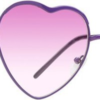 ALMOST FAMOUS HEART SUNGLASSES | Swell.com