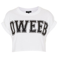 Dweeb Crop Top - Jersey Tops - Clothing - Topshop USA