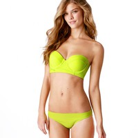 Aerie Solid Corset Bikini Top | Aerie for American Eagle