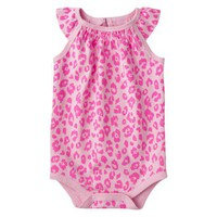 Circo Infant Girls&#x27; Cap Sleeve Bodysuit - Fresh Bloom