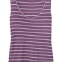 Aubin &amp; Wills Linwood striped cotton tank  52% at THE OUTNET.COM