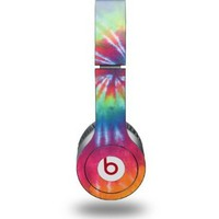 Tie Dye Swirl 104 Decal Style Skin (fits Beats Solo HD Headphones - HEADPHONES NOT INCLUDED):Amazon:Electronics