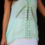 Feel The Breeze Tank: Light Mint | Hope's