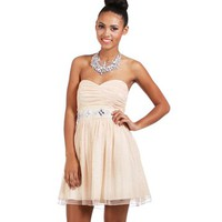 Addigail-Champagne Prom Dress