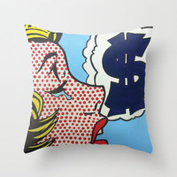 The Struggle Throw Pillow by Gustavo Barroso