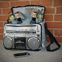 Super Jam Boom Box Music Cooler (iPod Ready)