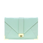 ASOS Clutch Bag With Strap And Fitting at asos.com