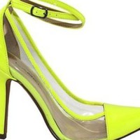 Neon Luxe Heels