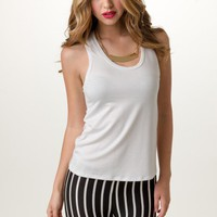 Essential White Tank