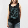 Barnabas Clothing - Outline Crest Stamp Tank Top