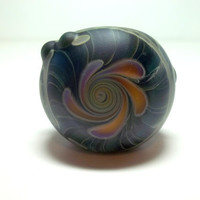 Glass Pipe, Sandblasted Full Color Beautiful Pipe, One of a Kind, Cgge Team, Ready for shipping M34
