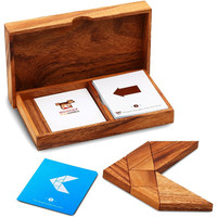 WOODEN TANGRAM SET