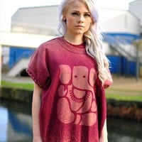 Oversized Ganesh print jumper from The Left Bank