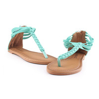 PenBang — Braided Simple Sandals Shoes
