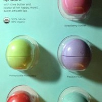 eos Organic Smooth Sphere Lip Balm - Summer Fruit, Sweet Mint, Strawberry Sorbet, Passion Fruit, Honeysuckle Honeydew (5 Pack):Amazon:Health &amp; Personal Care