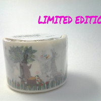 MT Ex LIMITED EDITION, Rabbits washi tape