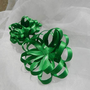 Green Satin Gift Bows