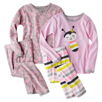 Just One You by Carter&#x27;s Infant Toddler Girls&#x27; Cotton Pajama Set