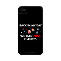 Back In My Day We Had Nine Planets Phone Case | SnorgTees