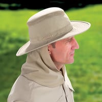 The Insect And Sun Repelling Hat - Hammacher Schlemmer