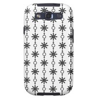 Tuxedo Black & White Pattern PT63 Galaxy SIII Case from Zazzle.com