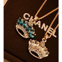 Crown Jewel Rhinestone Necklace | LilyFair Jewelry