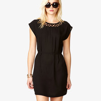 Cutout Crisscross Dress