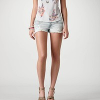 AE Destroyed Denim Shortie | American Eagle Outfitters