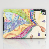 The Painted Quilt iPad Case by Catherine Holcombe