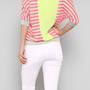 Pink Sunset Sorbet Striped Top