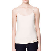 BASIC TANK TOP - T-shirts - Woman - ZARA United States