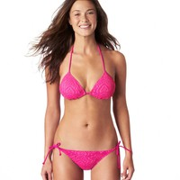 Aerie Crochet Triangle Bikini Top | Aerie for American Eagle
